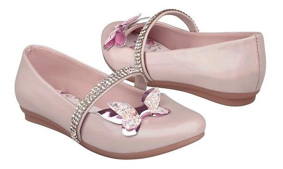 Zapatos Casuales Para Niña Miss Pink 181030 Blanco