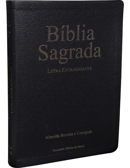 Bíblia Sagrada Letra Extragigante Almeida Revista Corrigida