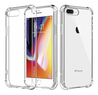 Capinha Tpu Borda Anti Impacto Transparente iPhone 7g Plus