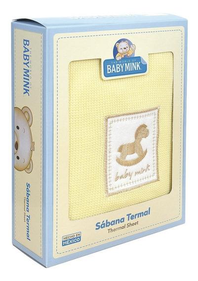 Baby Mink Sabanas Termales 2 Piezas