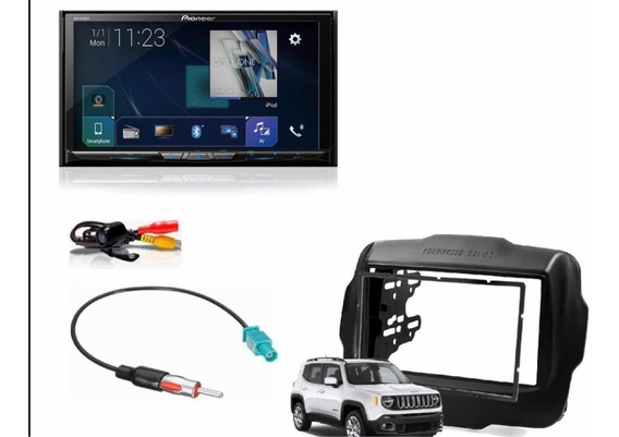 Pioneer Avh-z9180tv Chicote Moldura Jeep Renegade