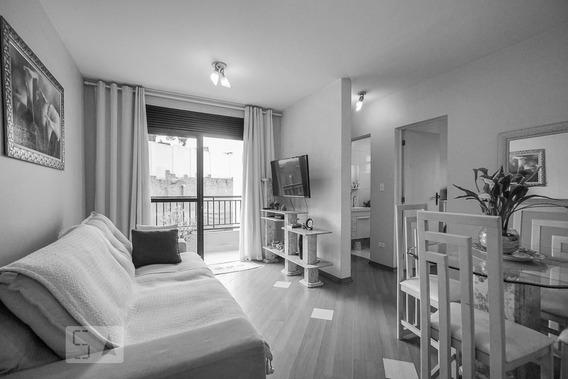 Apartamento No 1º Andar Mobiliado Com 2 Dormitórios E 1 Garagem - Id: 892896234 - 196234
