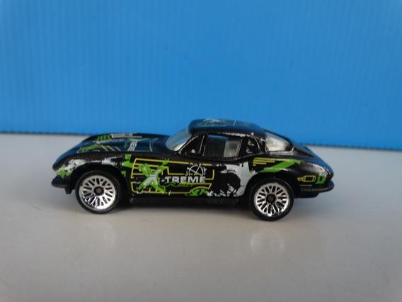 Corvette Sting Ray Preto X-treme - Hot Wheels - 1:64 Loose