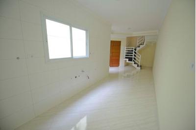 Cobertura Sem Condomínio, 47,4m²+ 47,4m², 2 Dormitórios, Escada Interna, Churrasqueira , Pronto, Vila Metalúrgica, Santo André. - Co0650