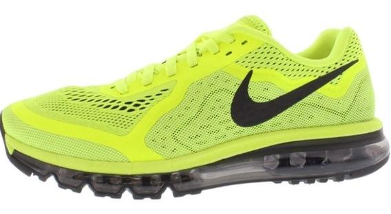 Tênis Nike Air Max 2014 Limão/preto Original