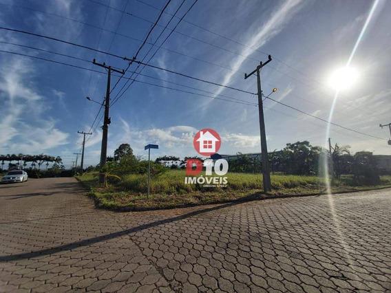 Terreno À Venda, 557 M² Por R$ 125.000 - Demboski - Içara/sc - Te0815