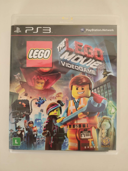The Lego Movie Videogame Midia Fisica Ps3 Seminovo Usado