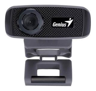 Camara Webcam Hd 720p Genius Facecam 1000x - Con Micrófono