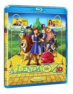 A Lenda De Oz - Blu-ray 3d / 2d - Original E Lacrado