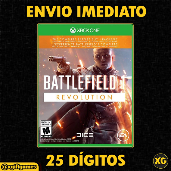 Battlefield 1 Revolution - Código De 25 Dígitos [xbox One]