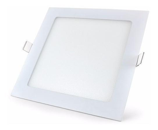 Luminaria De Embutir Para Cozinha 6w Painel Quadrado Gesso