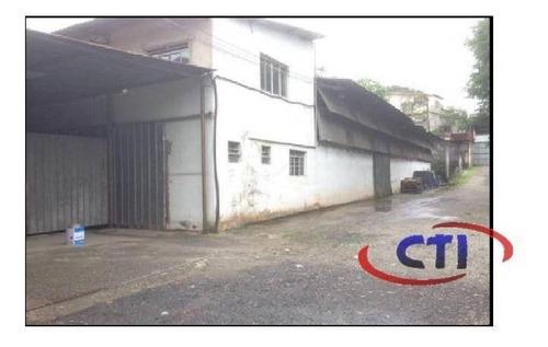 Galpão Industrial Para Venda E Locação, Jardim Da Represa, São Bernardo Do Campo - Ga0011. - Ga0011