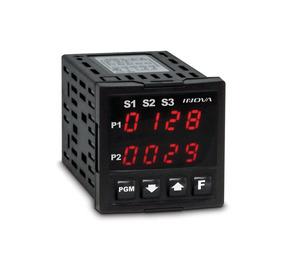 Controle De 2 Pontos De Temperatura Com 1 Alarme Inv40004/j