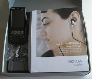 Celular Nokia N73 Antigo Completo Original Usado Lnativo