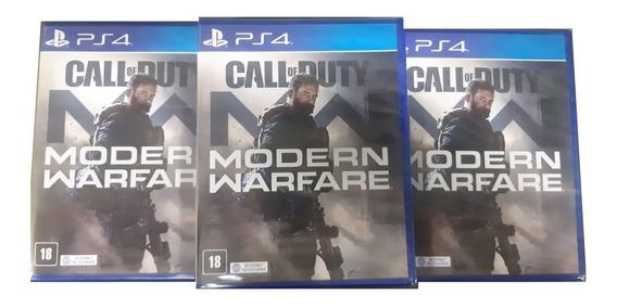 Call Of Duty Modern Warfare Ps4 Mídia Física + Brinde