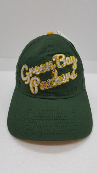 Gorra Green Bay New Era Dama Ajustable Bordada Nueva Origina
