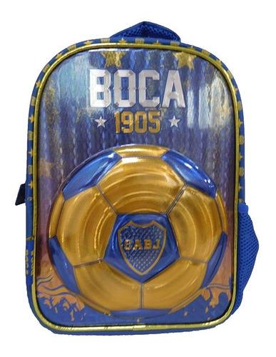 Mochila De Espalda Boca Juniors Bo005 Licencia Orig.12''