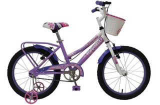 Bicicleta Infantil Rod 16 Niñas (lady16) Canasto Accesorios
