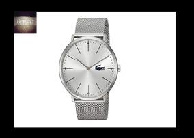 Reloj Lacoste Para Hombre Color Plateado