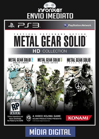 Metal Gear Solid Hd Collection Ps3 Psn Envio Imediato