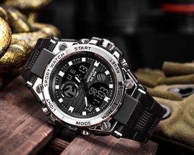 Relógios2019 Luxo Preto Dos Homens Sports Watch Led Digital
