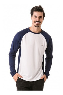 Camisa Raglan Baseball Proteção Solar Extreme Uv Dry Masc
