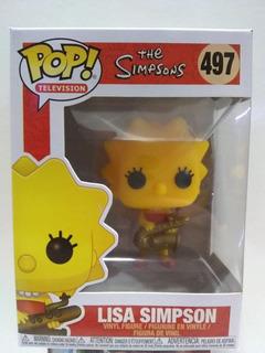Funko Pop! The Simpsons Lisa Simpson #497