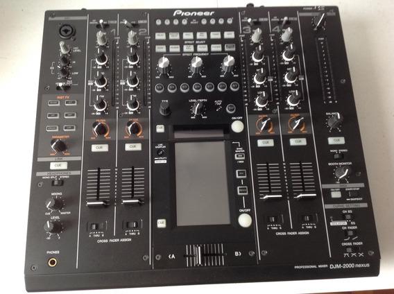 Mixer Pioneer Djm 2000 Nexus Com Case