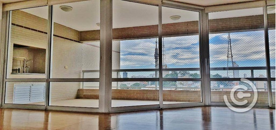 Apartamento Com 4 Dormitórios (2 Suítes), Varanda Gourmet, Para Alugar, 192 M² Por R$ 9.500/mês - Perdizes - São Paulo/sp - Ap1323
