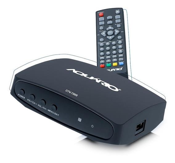 Conversor Digital E Full Hd Dtv-7000 Aquario