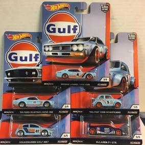 Hotwheels Car Culture Set Gulf