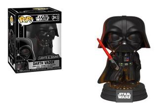 Funko Pop Star Wars Darth Vader Light & Sound Electrónico