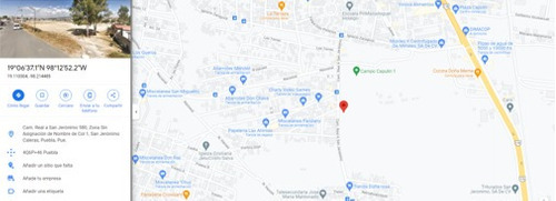 Imagen 1 de 5 de Terreno En Renta, San Jeronimo Caleras