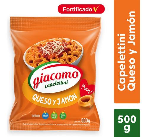 Giacomo Pasta De Semola Capelettini Queso Y Jamon 500 Gr