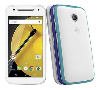 Smartphone Moto E (2ª Geração) 4g Colors Branco Com 16gb...