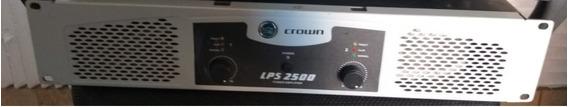 Amplificador Potência Crown Lps 2500 1450 Watts Rms.