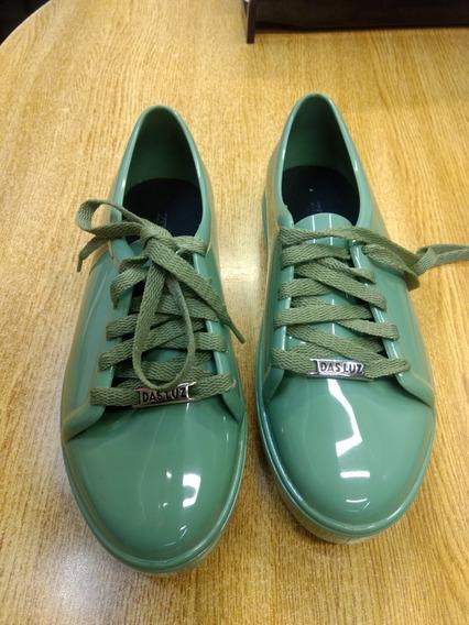 Zapatillas Para Lluvia. 37!! Botas Lluvia Hermosas Das Luz