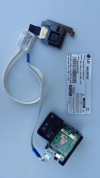 Placa De Comando E Sensor Smart Tv Lg 49lh5700