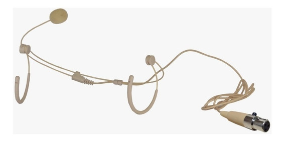Microfone Headset P/ Sem Fio Kadosh K82 Mini Xlr Fine 3 Pino
