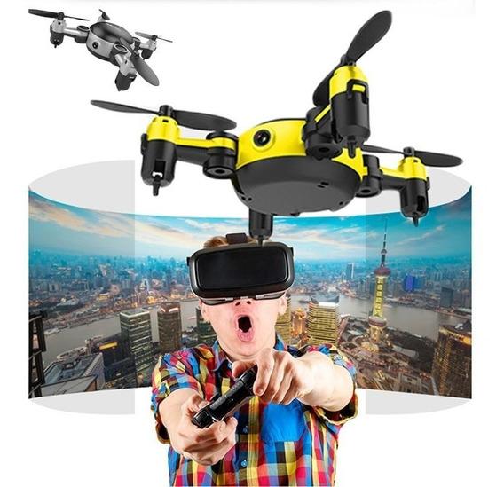 Mini Drone Ky901 Wifi 2.4ghz Câmera Hd 6 Eixos Giroscópio