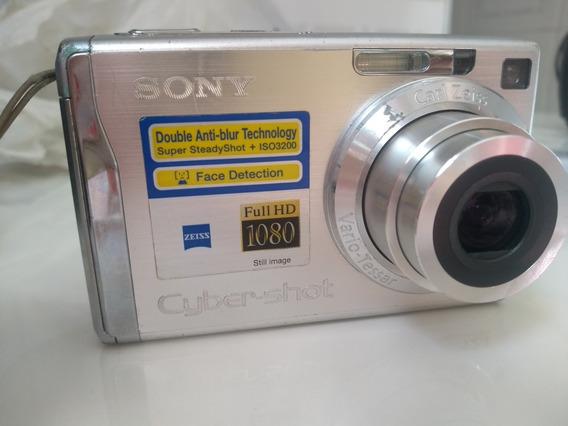 Câmera Sony Cyber 12.1 Mp - Super Steady Shot - Dsc-w200