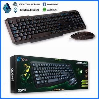 Mar Del Plata Kit Teclado Y Mouse Gamer Nogastormer Nkb-200