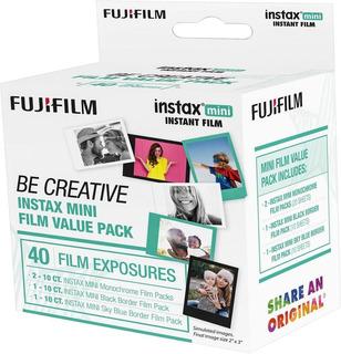 Instax Be Creative Value - Lámina De Película 40 Hojas