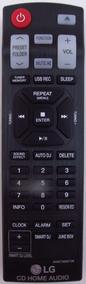 Controle Mini System Lg Cm9540 Cm9740 - Novo - Original