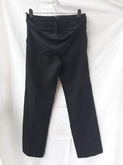 Pantalon Embarazada Talle S Marca Materia Negro