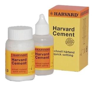 Cemento De Fosfato De Zinc Avío: 35g + 15ml. Harvard