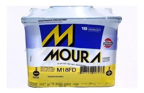 Imagen 1 de 2 de Bateria M18fd Moura 45 Amperes 12v