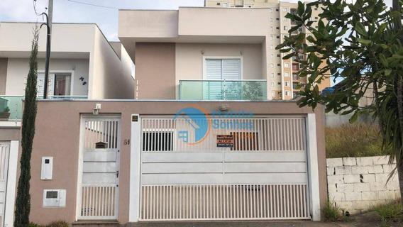 Casa Com 3 Dormitórios Para Alugar, 100 M² Por R$ 2.400/mês - Portais (polvilho) - Cajamar/sp - Ca0134