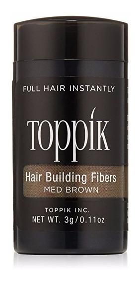 Toppik Hair - 12g. / Fibra De Queratina - Castanho Médio