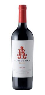 Vino Tinto Alfredo Roca Fincas Malbec Caja X6 Envios(ws)